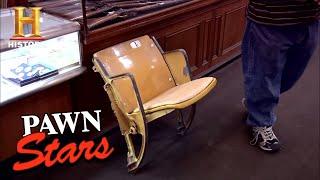 Pawn Stars: Seat from Dodger Stadium (Season 7) | History