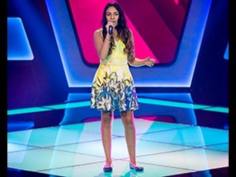 Júlia Saad canta 'Pra Você' no The Voice Kids - Audições|1ª Temporada