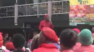 Julius Malema at Nelson Mandela Metropolitan University (NMMU) 15/09/15