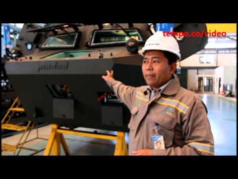 Melihat Pembuatan Kendaraan Tempur Anoa di Pindad