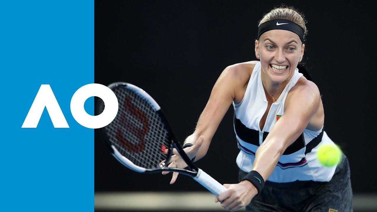 Petra Kvitova v Ashleigh Barty first set highlights (QF ...