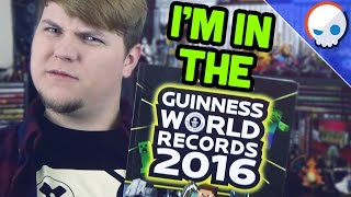 I'm in the Guinness World Records Gamers Edition!