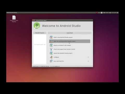 How to install Android Studio in Ubuntu 14.04.1 LTS