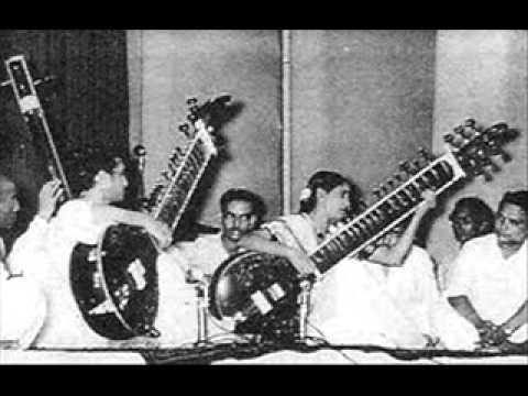 Smt  Annapurna & Pt  Ravi Shankar, Surbahar and  Sitar, - Yaman Kalyan