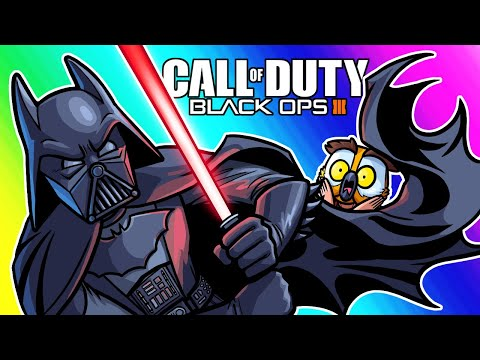 Black Ops 3 Zombies Funny Moments - Star Wars, DBZ and Limitless Weapons!