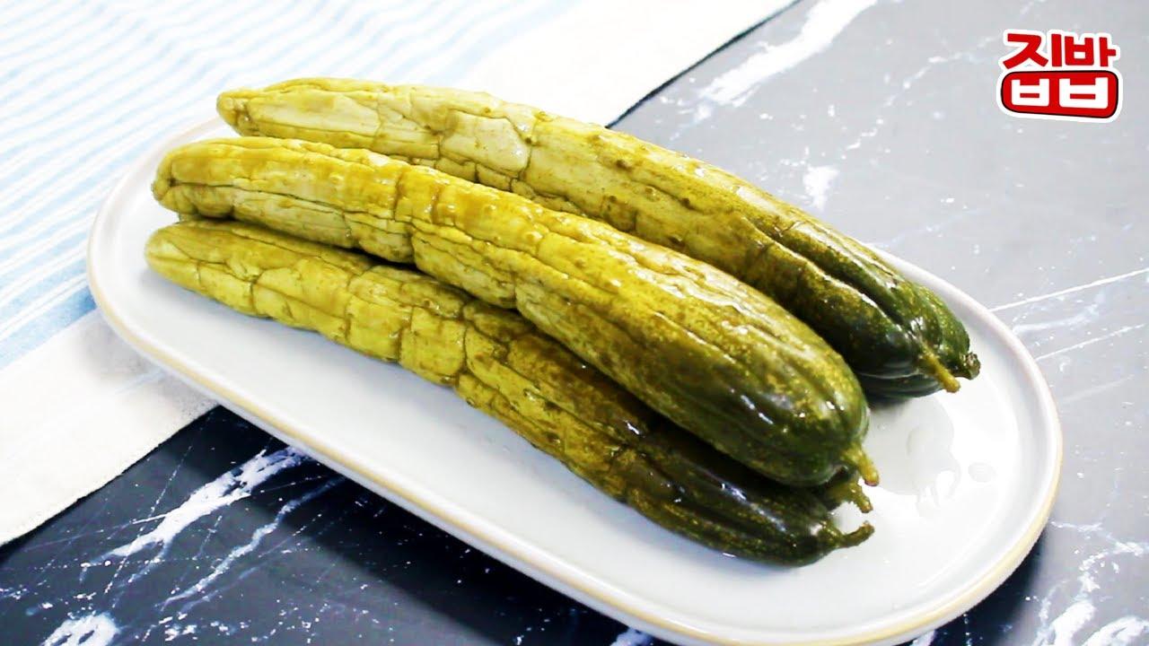 [집밥] 물 없이 지퍼백으로 꼬들꼬들 오이지 쉽게 담그는 법 / 오이지로 맛있게 오이무침까지~