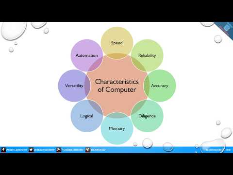 What are the characteristics of computer