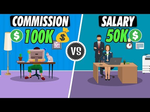 Working on Commission jobs vs Salary jobs