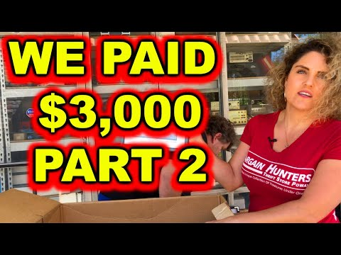 PART 2 PAID $3000 FOR THIS ABANDONED STORAGE WARS AUCTION BIG PROFITS