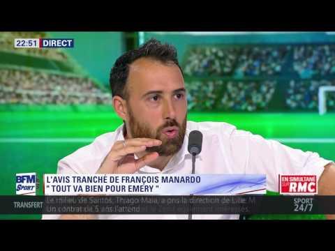 After Foot du jeudi 20/07 – Partie 7/7 - L'avis tranché de François Manardo sur Unai Emery