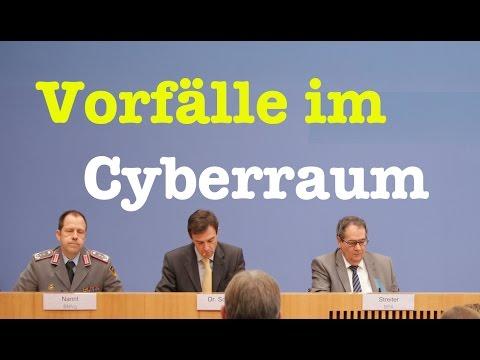 Vorfälle... im Cyberraum! - Komplette Bundespressekonferenz vom 4. Januar 2017