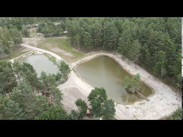 aerial video stages of 1st round Kings'Cup 2020 @ shooting range Wiechlice, Poland