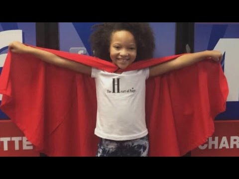 9-Year-Old Girl With Heart Condition Makes Superhero Capes for Kids in Hospital