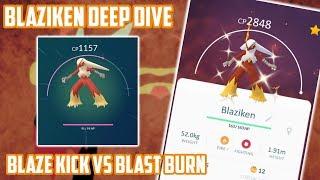 Blaziken Deep Dive (How Good Is It In Pokemon Go?)