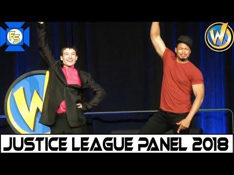 Justice League (Ezra Miller, Ray Fisher) Panel - Wizard World Philadelphia 2018