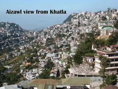 Aizawl Tourist Guide (landmarks/interesting places) - North East India