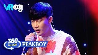 I'm live × vr360°] peakboy(픽보이) - 'kelly / the same ponytail ...