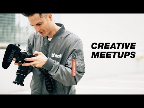 How to Find Creative Networking Events and Meetups in your City — Creators Create Ep. 4