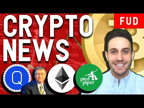 Crypto News: Could Ethereum be Banned by the SEC? Pied Piper Coin, $QASH ICO Platform
