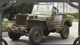 Американец на службе СССР.  Джип Виллис Тест-драйв Willys MB