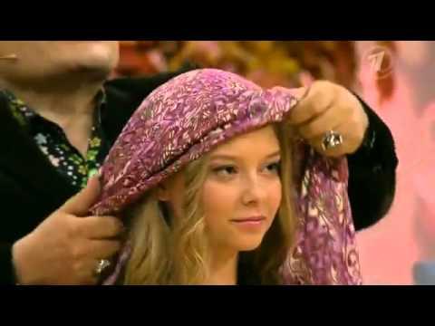 Как носить павлопосадские платки советы эвелины хромченко