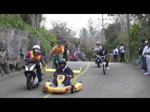 Mohawk Grand Prix Go Kart Race Good Friday St David's Bermuda Apr 6 2012