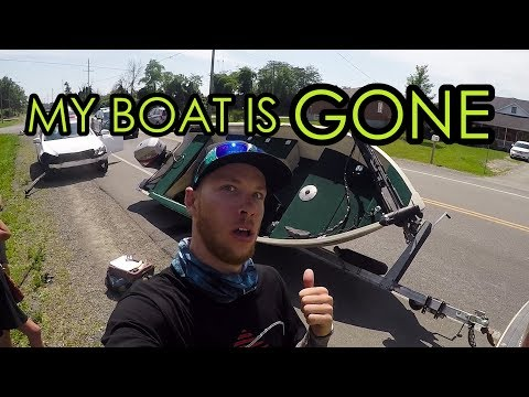 How My NEW BOAT Got WRECKED | Syl's Final Voyage On Lake Erie