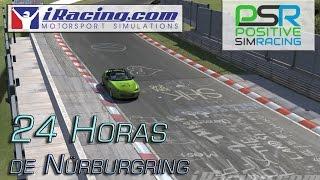 iRacing - La experiencia de las 24 horas de Nürburgring (con Positive Simracing)
