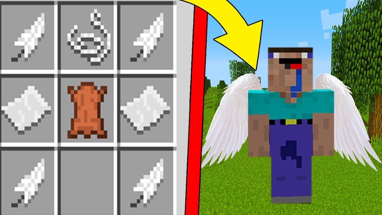 Майнкрафт версии 1.9 как сделать крылья