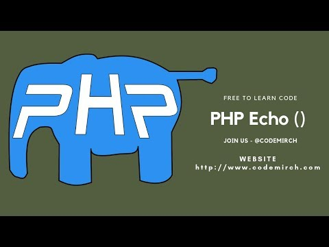 PHP Function | Echo Example | Call Php Function From Html