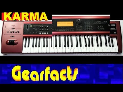 Korg Karma: 24 minutes of SOFT sounds, DAW recorded for you to use