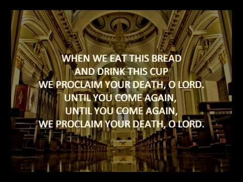 When We Eat This Bread (Light from Light Acclamation) Instrumental Karaoke