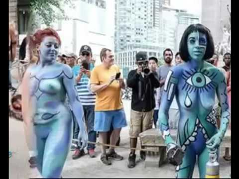 Amazing Bodypainting Festival NEW 2016 -  Annual Bodypainting Day 2016 ★ New York USA #2