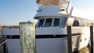 Jennifer Ann - 201 65' Custom Steel Boats Live Aboard Trawler - Annapolis Maryland  (Walczak Yachts)