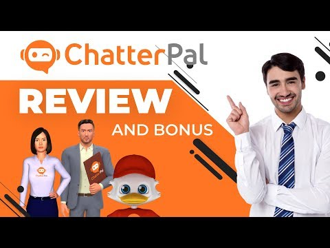 ChatterPal Review + Demo | ChatterPal Bonus. http://bit.ly/30Hw13Y