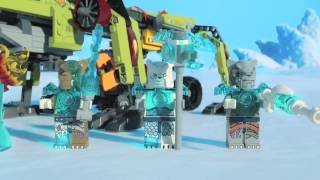 Lego 70227 | Chima | King Crominus' Rescue | Lego 3d Review
