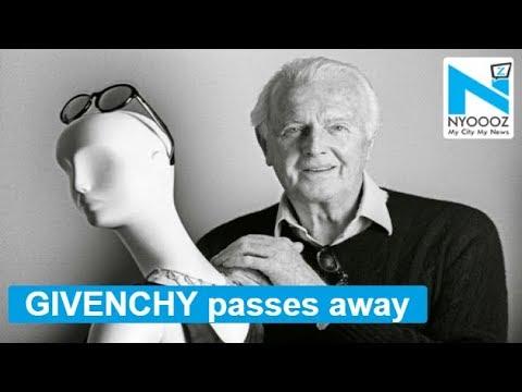French designer Hubert de Givenchy passes away at 91