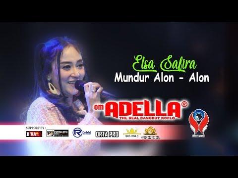 Elsa Safira Mundur Alon Alon Om. Adella Live Jombang