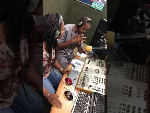 With Ifesi of Aso fm Abuja ...Radio tours