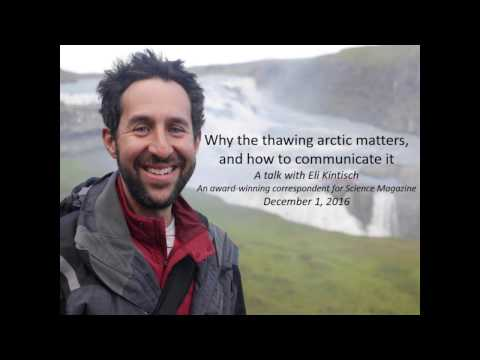 Why the Thawing Arctic Matters