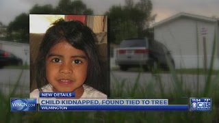 Child kidnapped, found tied to tree