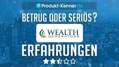 [FAZIT] Wealth Generators Erfahrungen + Review | Experten traden für dich - Test!
