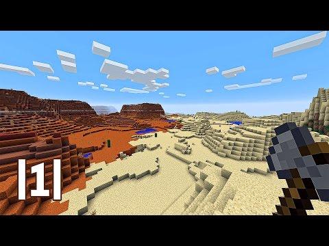 Minecraft │1│ V Poušti zrozen