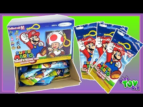 Super Mario Hanger & Collector Card Pack - Full Case Opening