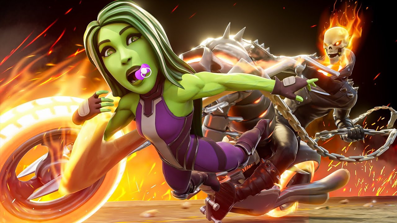 Download BABY SHE-HULK IS SNATCHED BY GHOST RIDER!!.... ( Fortnite Short )