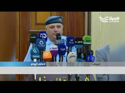 مواجهات بين المتظاهرين وقوات الأمن في بغداد  - 19:21-2018 / 7 / 17