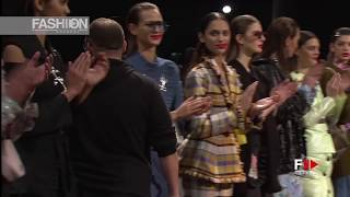 ANEL YAOS 080 Barcelona Fashion Fall Winter 2017 by Fashion Channel