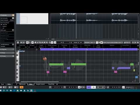 Pitch Edit (Cubase 10 Explained)