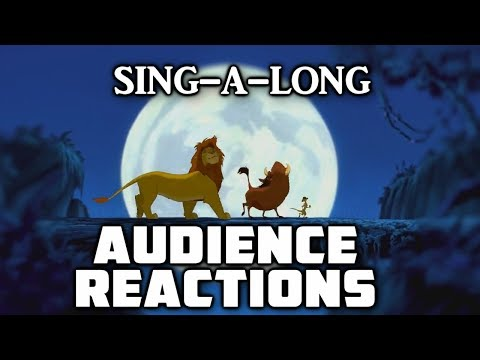 Hakuna Matata Sing-A-Long Real Audience Reactions | 9/16/2011