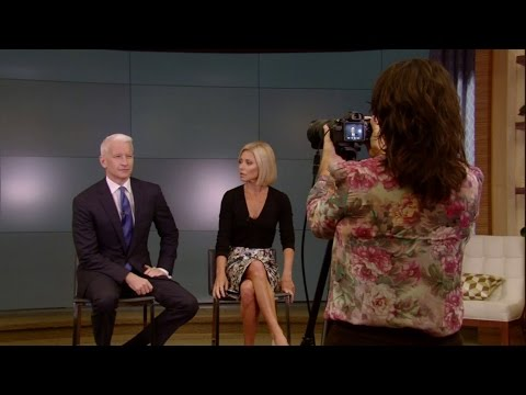 Kelly and Anderson Cooper School Pictures WEB EXCLUSIVE